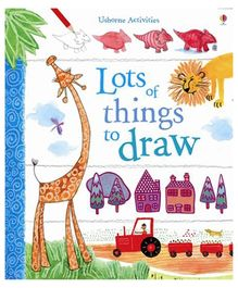 Usborne- Book Of Lots Of Things To Draw