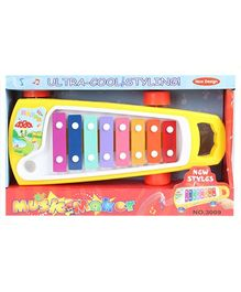 Fab N Funky - Yellow Ultra Cool Styling Music Maker On Wheels