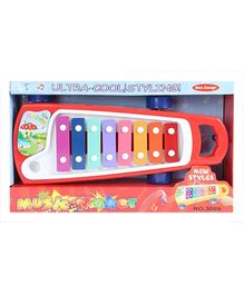 Fab N Funky - Red Ultra Cool Styling Music Maker On Wheels