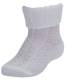 Farlin - Ankle Socks Knitted White