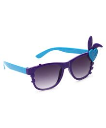 Babyhug Girls Sunglasses Heart Applique - Purple