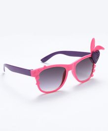 Babyhug Girls Sunglasses Heart Applique - Pink