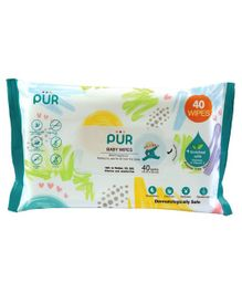 Pur Baby Wet Wipes - 40 Wipes