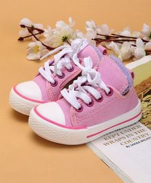 Cute Walk by Babyhug Casual Canvas Shoes - Pink