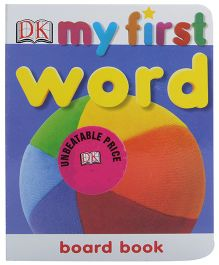 Dorling Kindersley - My First Word Board Book