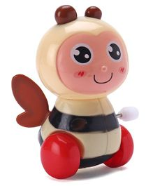 Playmate Bee Shaped Wind Up Toy - Cream
