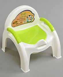 Baby Potty Chair with Handles - Green