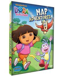 Dora - Map Adventures DVD In Four Languages