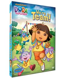 Dora - We Are A Team DVD In English