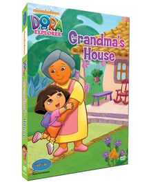 Dora - Grandma House DVD In 3 Languages