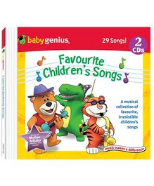 Baby Genius - Favourite Chidren Songs 2 Audio CD In English