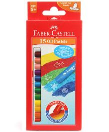 Faber Castell 15 Oil Pastels