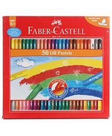 Faber Castell 50 Oil Pastels