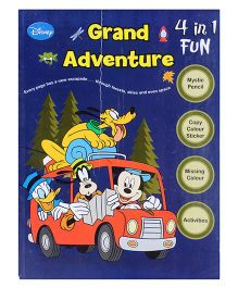 Mickey Mouse And Friends - 4 in 1 Grand Adventure