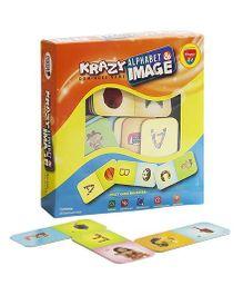 Krazy Alphabet And Image Dominoe Game