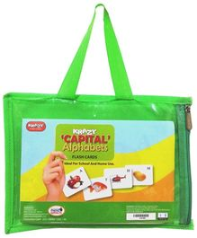 Krazy Capital Alphabets Flash Cards