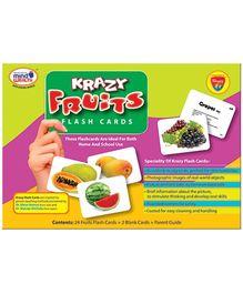 Krazy Fruits Flash Cards