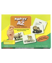 Krazy A To Z Animal Flash Cards
