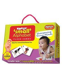 Krazy Small Alphabets Flash Cards