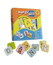 Krazy Alphabets And Images Memory Matchup Game