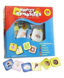 Krazy Opposites Memory Matchup Game