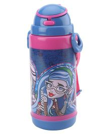 Monster High Pop UP Straw Water Bottle - 800 ml