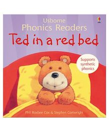 Usborne - Ted In A Red Bed