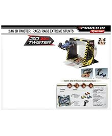 Silverlit - Remote Control 3D Twisters Racz Extreme With Stunt Set