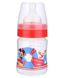 Disney Mickey Mouse and Friends Wide Neck Feeding Bottle 150 ml