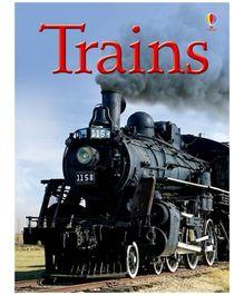 Usborne - Trains Book
