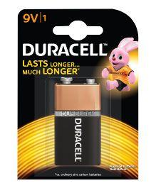Duracell Alkaline 9 V Batteries - Pack Of 1