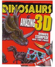 Scholastic - Dinosaurs Amazing 3D Book