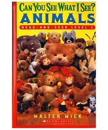 Scholastic - Can You See What I See Animals Level 1 Book