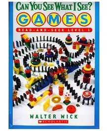 Scholastic - Can You See What I See Games Level 1 Book