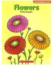 Scholastic - Coloring Fun Flowers Book