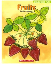 Scholastic - Coloring Fun Fruits Book