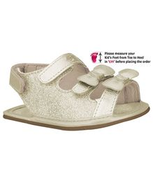 Elefantastik Sandals Glitter - White Gold