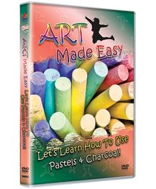 Excel Home Ent - Art Made Easy Let'S Learn How To Use Pastels And Charcoal