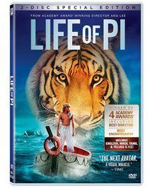 Toonz - Life Of PI 3D+ DVD