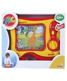 Simba ABC Musical TV Toy