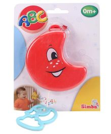 Simba Baby Pull String Musical Clock - Red