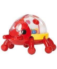 Simba ABC Jumping Beetle Rattle Red