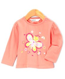 Beebay - Infant Girl Butterfly T- Shirt