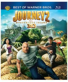 Warner Brothers - Journey 2 Mysterious Island 3D BD