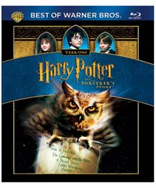Harry Potter And The Sorcerers Stone Blue-ray Disc