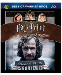 Harry Potter And The Prisoner Of Azkaban Blue-ray Disc