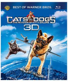 Warner Brothers - Cats and Dogs The Revenge of Kitty Galore 3D