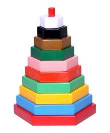 Build A Tower - Hexagon