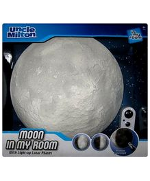 Uncle Milton Remote Control Moon In My Room Projector