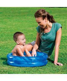 Bestway - Two Ring Blue Kiddie Pool